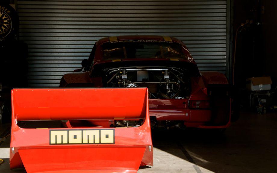 Momo-sponsored Porsche 935 of Chip Connor