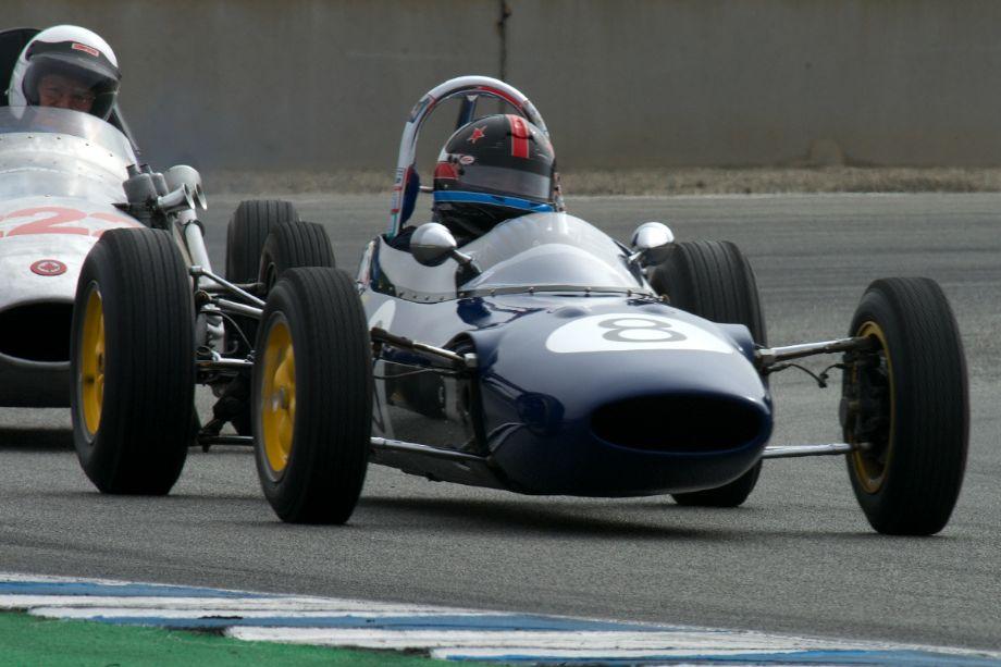 1963 Lotus 27 driven by Phillip Ribbs.