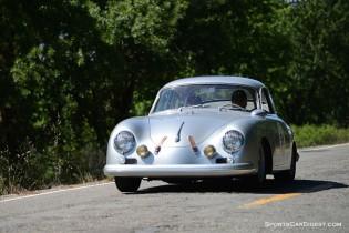 Bruce Meyer, 1957 Porsche 356 Coupe. Photographer: Bob Ross