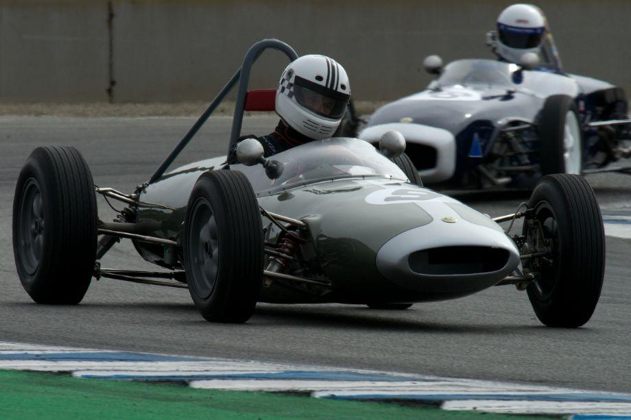 Carl Moore's Lotus 22.