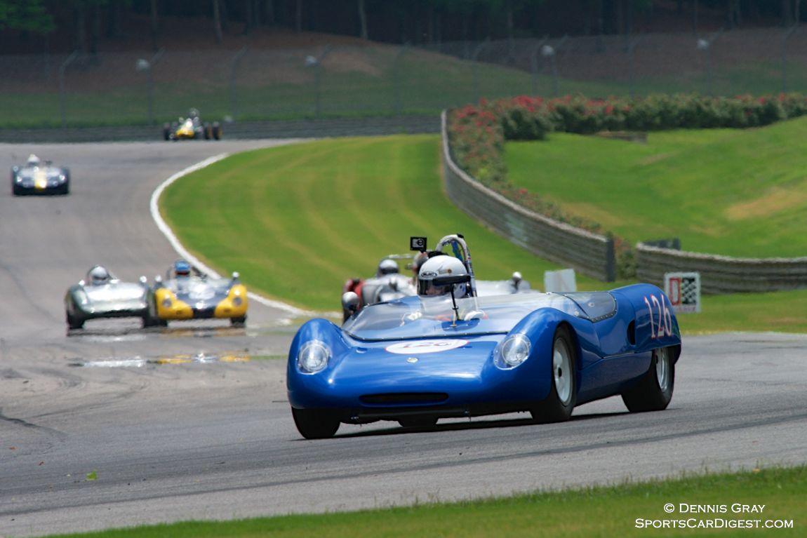 Michael Kaleel's Lotus 23 in Turn 8