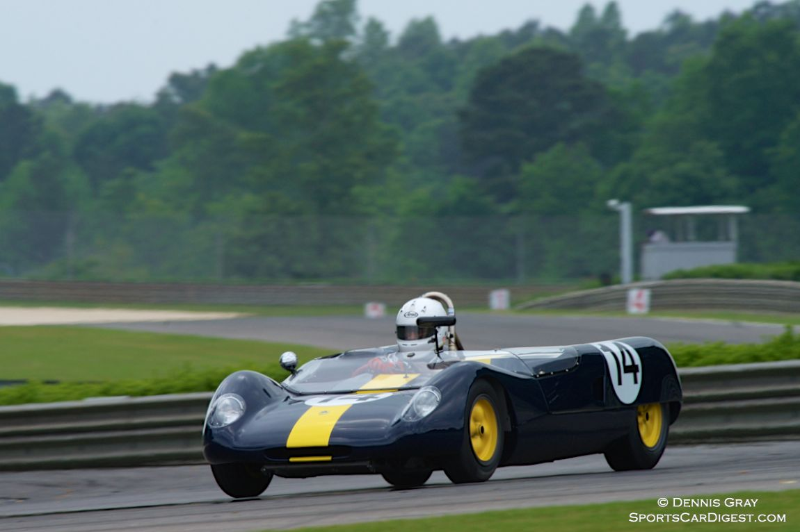 Robert Davis in his Lotus 23