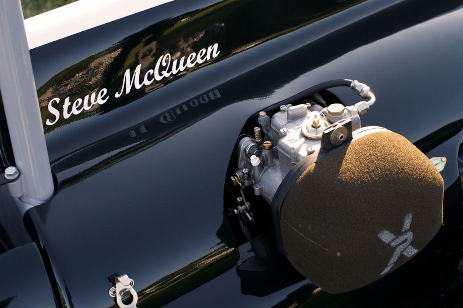 Bruce Canepa brought an original ex-Steve McQueen 1961 Cooper T56 Mk.II