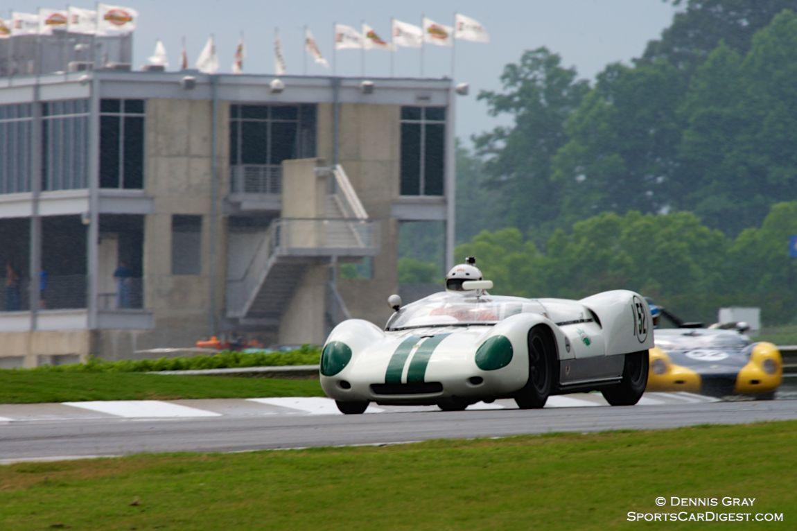 Robert Bodin's Lotus 19 in the rain