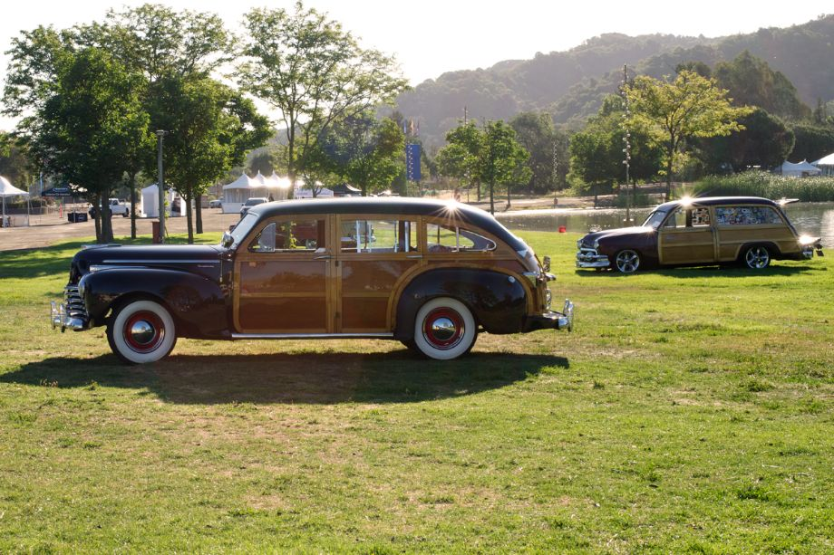 Chrysler and Ford Woody wagons.