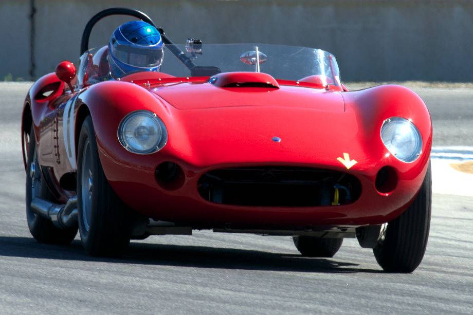 Maserati 450S driven by Rob Walton. This big V8 has a sound all its own.
