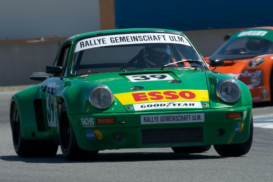Dennis Singleton's 1974 Porsche RSR.