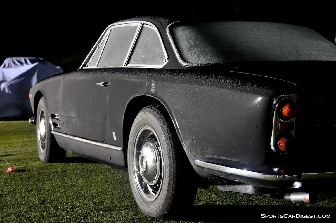 Early morning with the Maserati Sebring