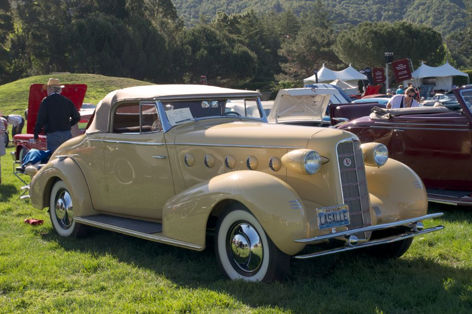 1934 LaSalle Convertible Coupe.