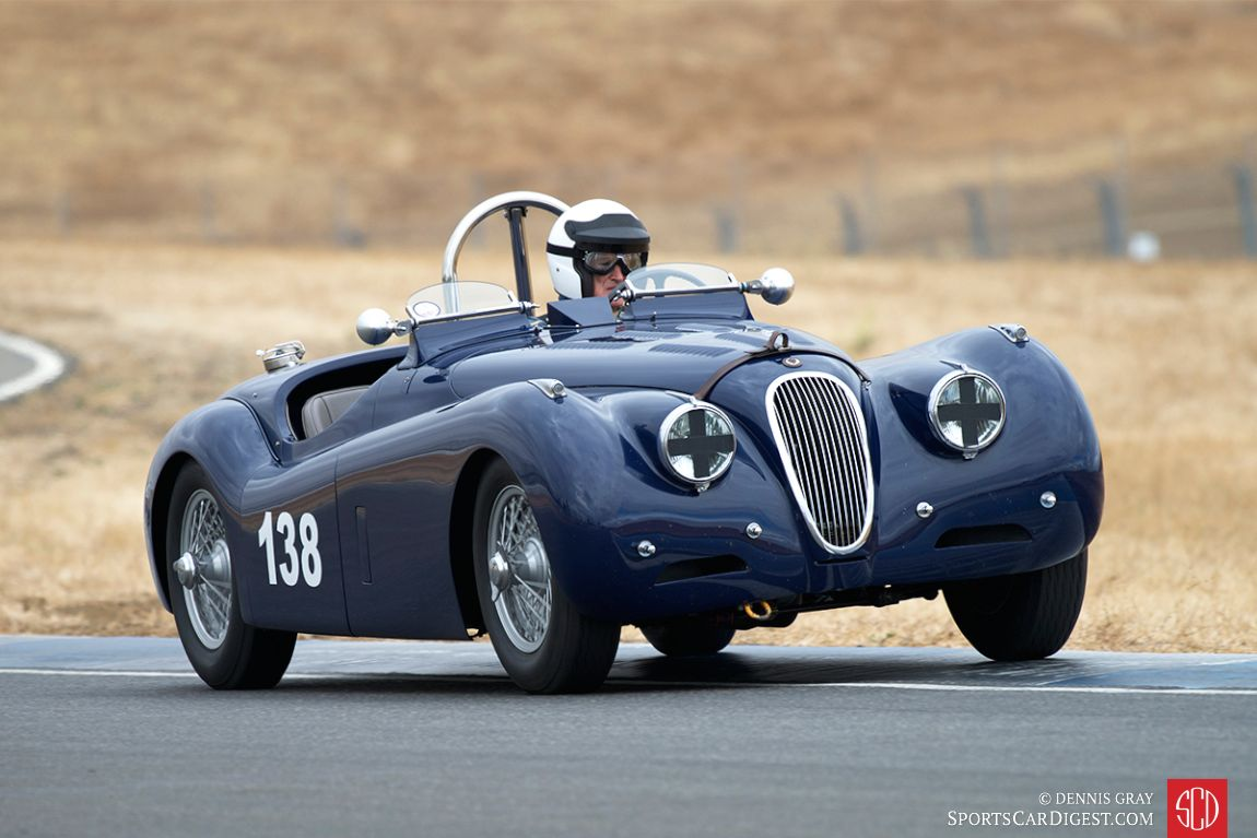 1951 Jaguar XK120 OTS of Tim Barnes