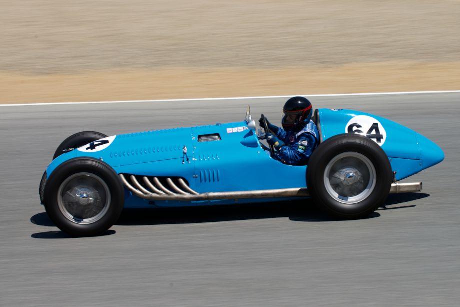 1949 Talbot Lago T26C/DA GP driven by David Duthu.
