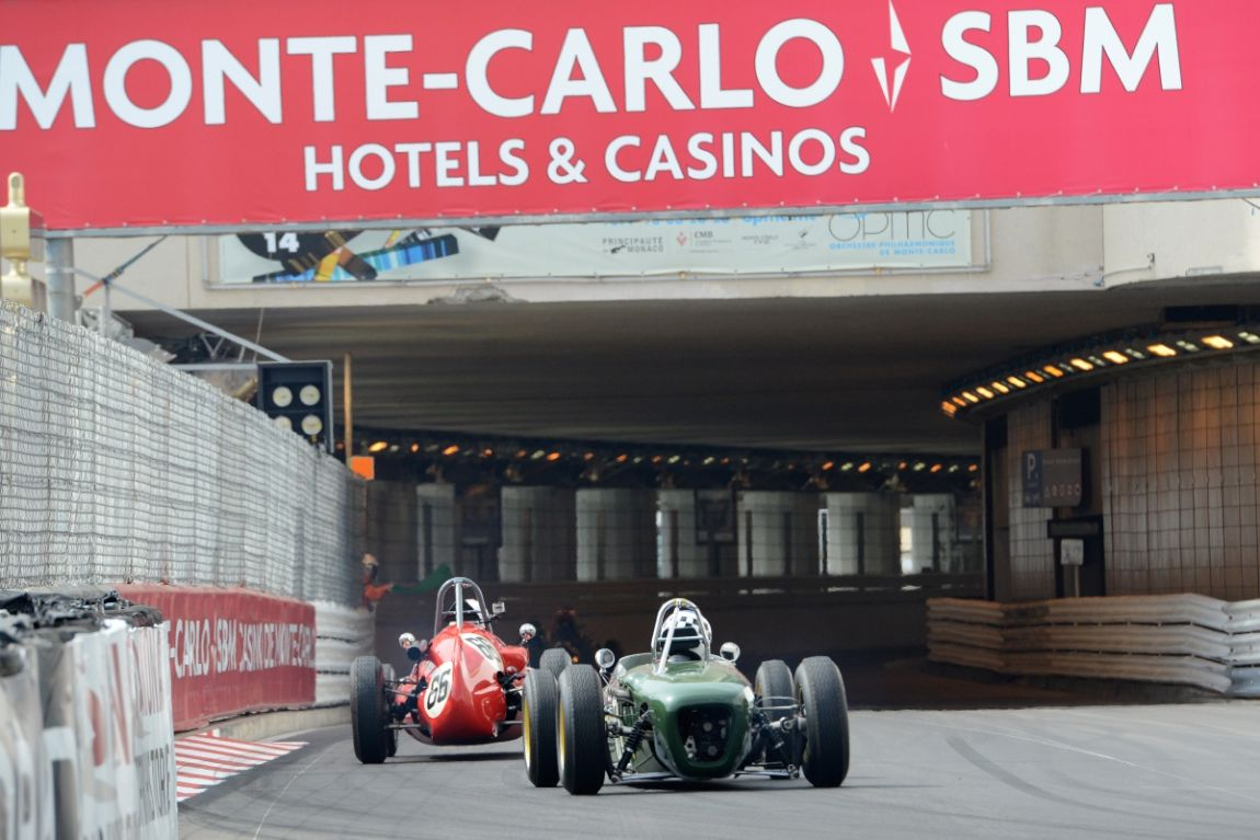 1959 Cooper T51 and Lotus 18