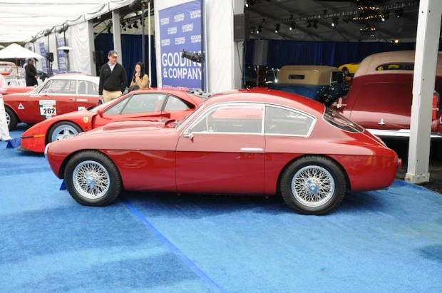 1954 Fiat 8V Berlinetta, Body by Zagato