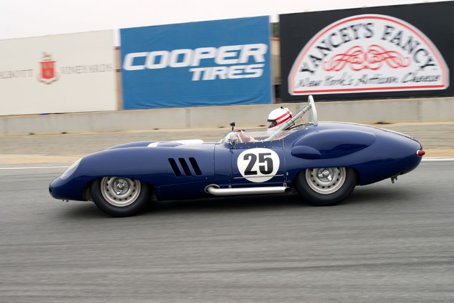 Erickson Shirley in his Lister Costin Chevrolet turn eleven.