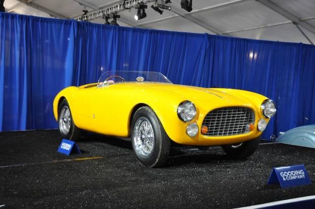 1951 Ferrari 340 America Spider, Body by Vignale; S/N 0140A
