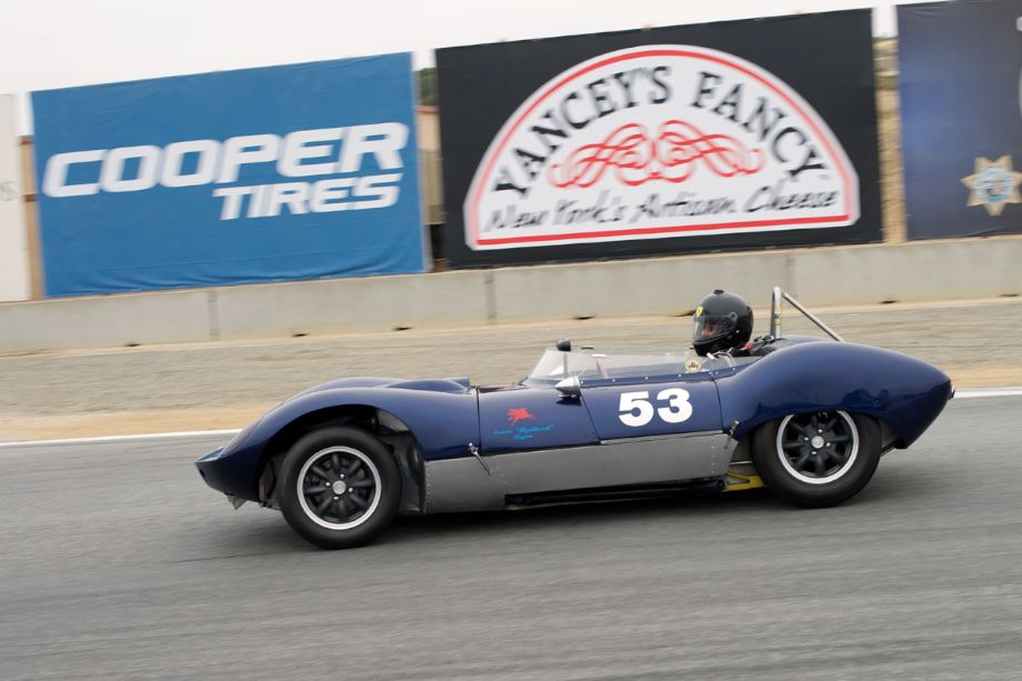 What a nice car - Dick McGovern's 1959 Magnolia Climax.