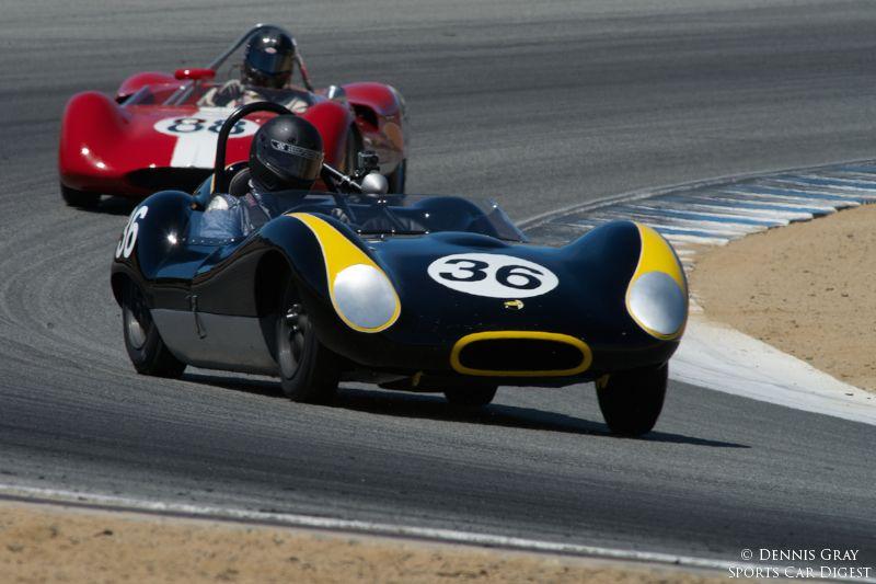 Carl Moore's 1973 Chevron B23 in turn two.