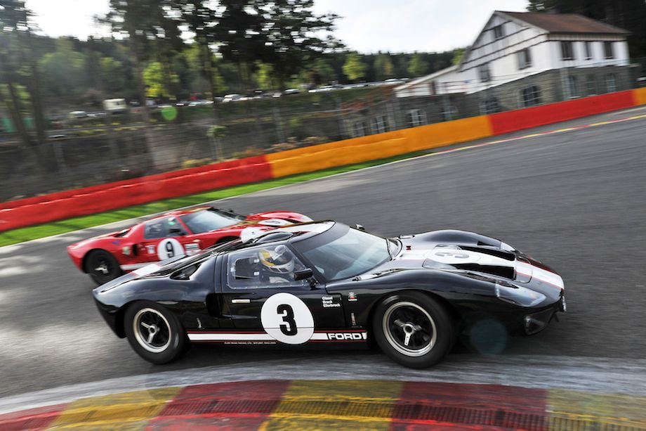 Ford GT40 battle at Spa Six Hours (photo: Tim Scott)
