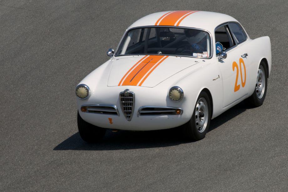 George Jewett's 1957 Alfa Romeo Sprint Veloce.