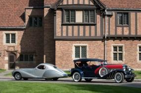 1938 Talbot-Lago 150-C Teardrop Coupe and 1929 Duesenberg Model J Dual Cowl Phaeton