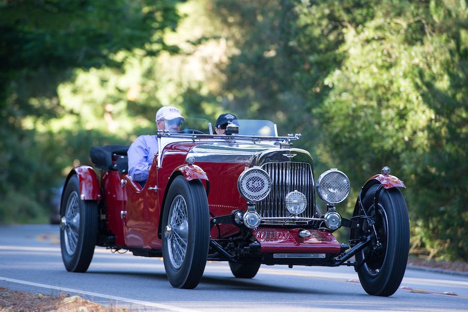 1935 Aston Martin Mark II Bertelli Long Chassis 2/4 Seater