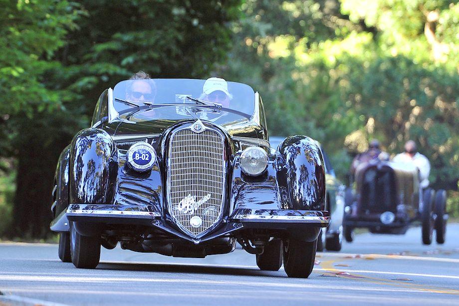 1932 Alfa Romeo 8C 2900 Touring Spider