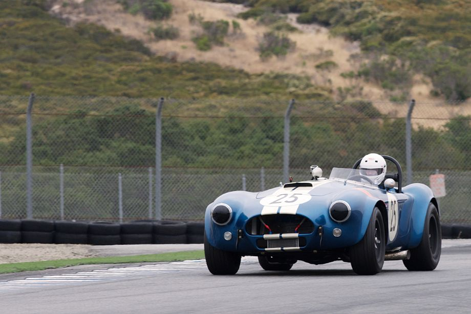 Shelby Cobra of Lynn Park accelerates out of eleven