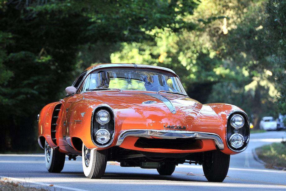 1955 Lincoln Indianapolis Boano Coupe