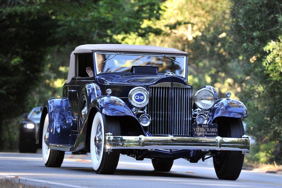 1933 Packard 1005 Twelve Coupe Roadster