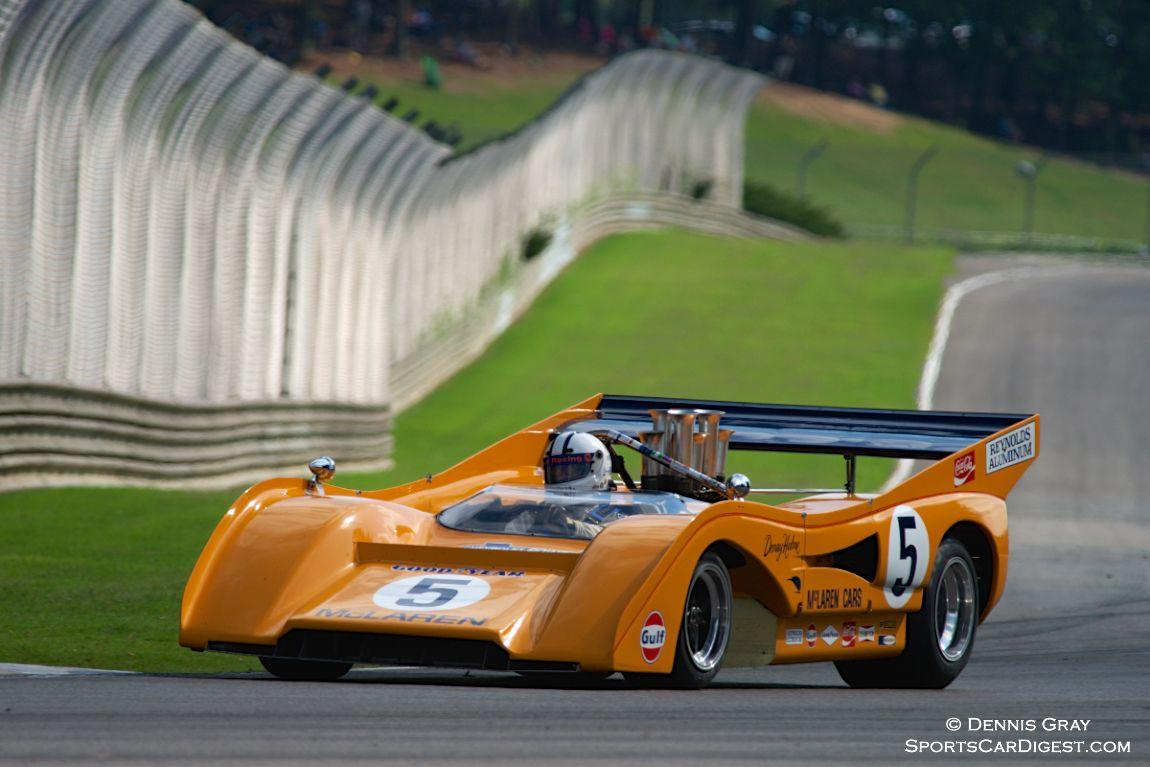 Chris MacAllister's McLaren M8F