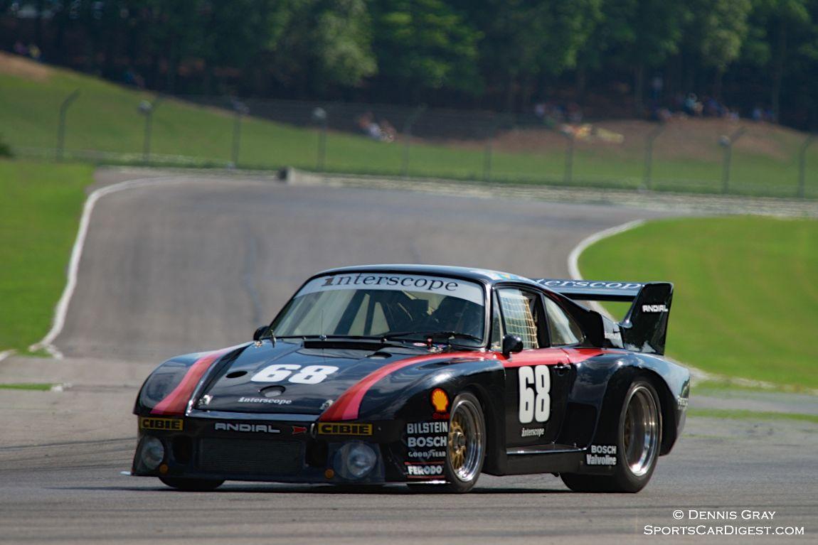 Lloyd Hawkins in his Porsche 935