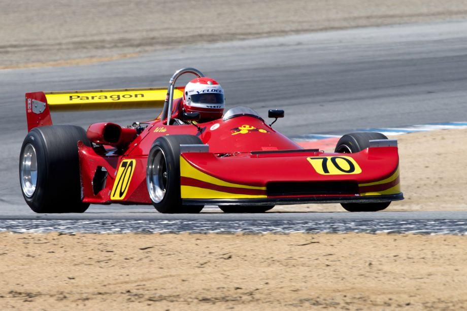 Robert Baker's 1978 Ralt RT-1 in turn two.