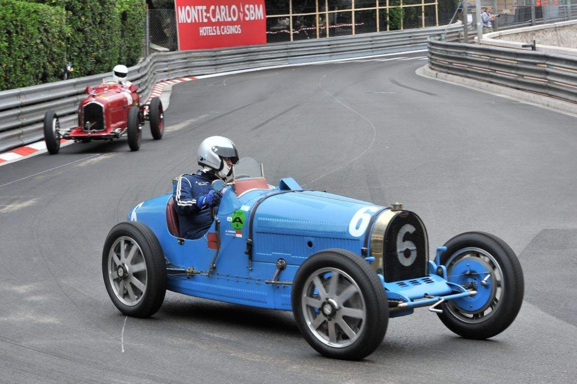 1927 Bugatti Type 35/51 and 1934 Alfa Romeo Tipo B P3