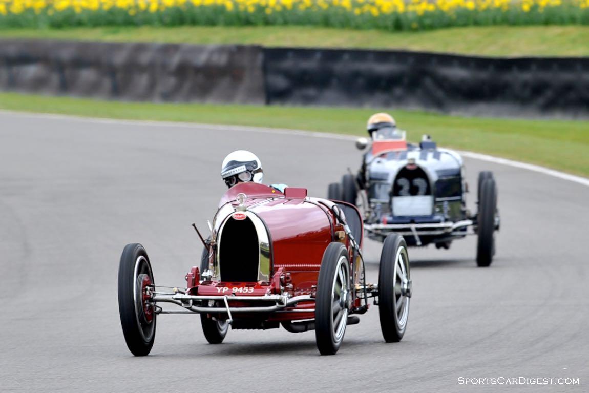 1926 Bugatti Type 35 and 1932 Bugatti Type 51