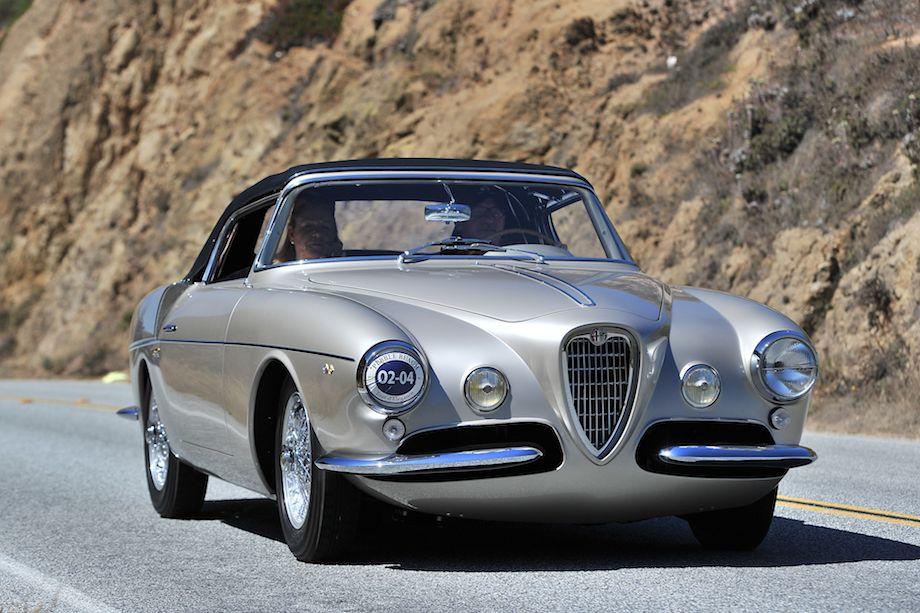 1955 Alfa Romeo 1900 CSS Ghia Aigle Cabriolet