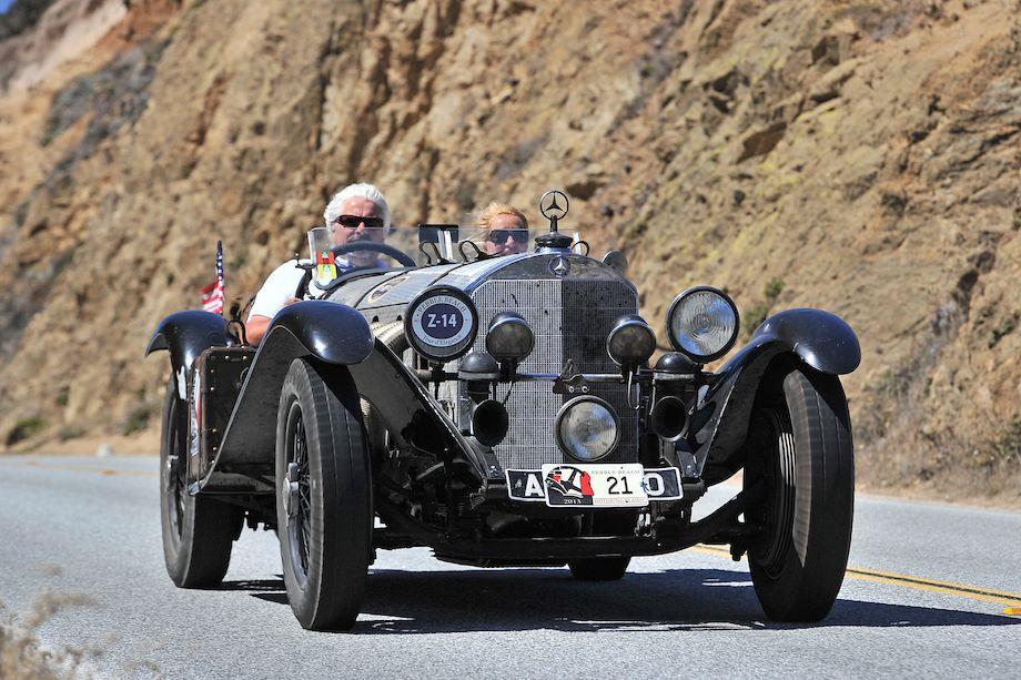 1930 Mercedes-Benz SSK Black Bear