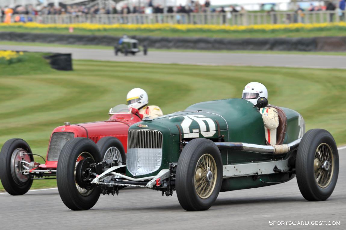 1932 Buick Shafer 8 and 1934 Maserati 8CM