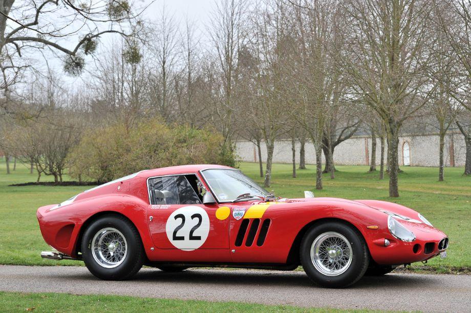 Nick Mason's 1962 Ferrari 250 GTO, s/n 3757GT
