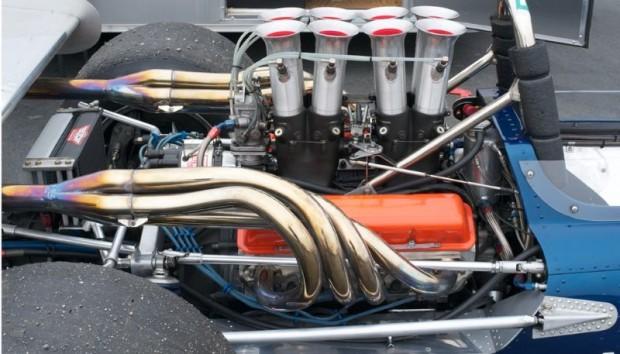 Gurney Mk 5 engine, 302 ci Chevrolet small block