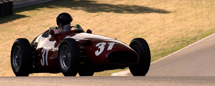 Maserati 250F at Circuit Mont-Tremblant