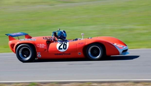 Steve Hilton - 1968 Lola T70 Mk IIIb Chevrolet.
