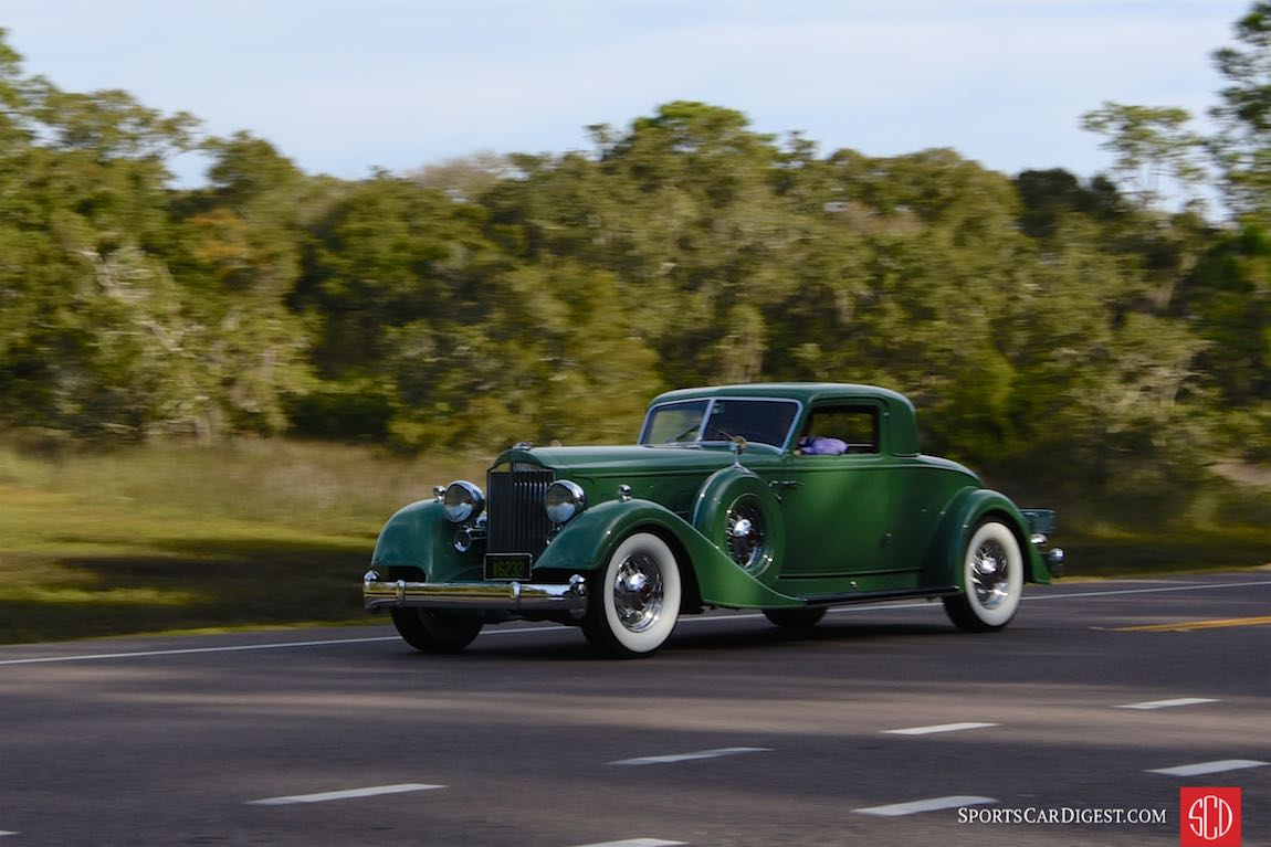 1934 Packard Twelve Dietrich Stationary Coupe