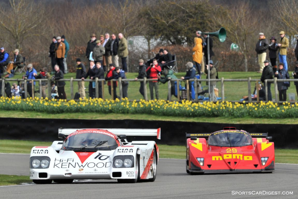 1988 Porsche 962 and 1990 Gebhardt G901