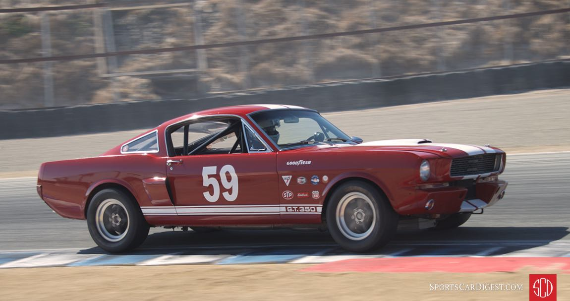 Lindsay Ross - Ford Shelby GT350