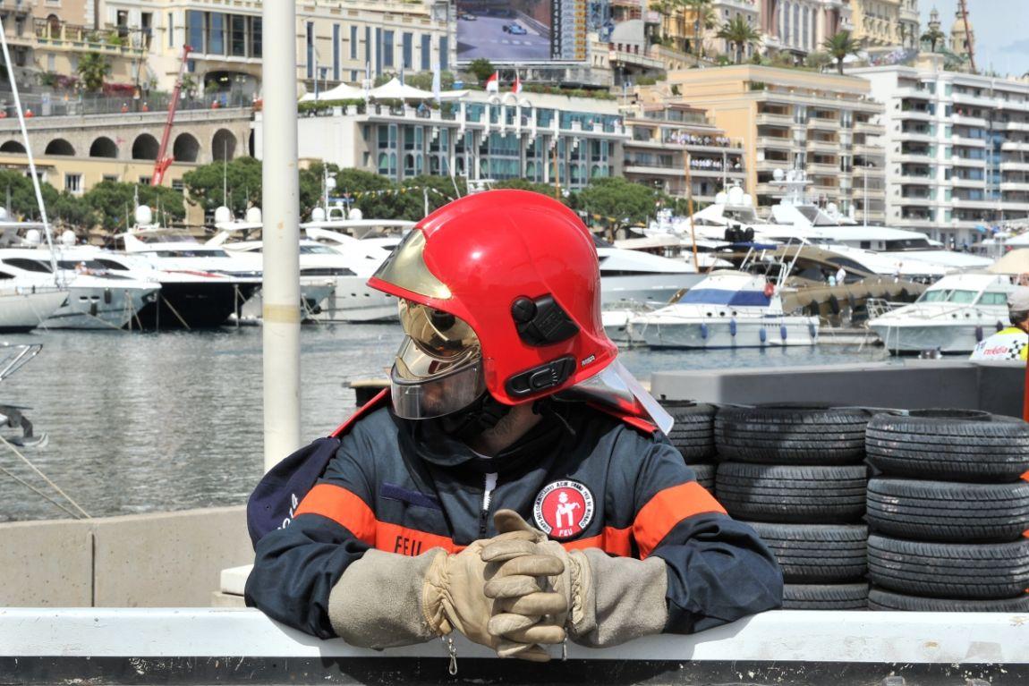 Quite the scene in Monaco