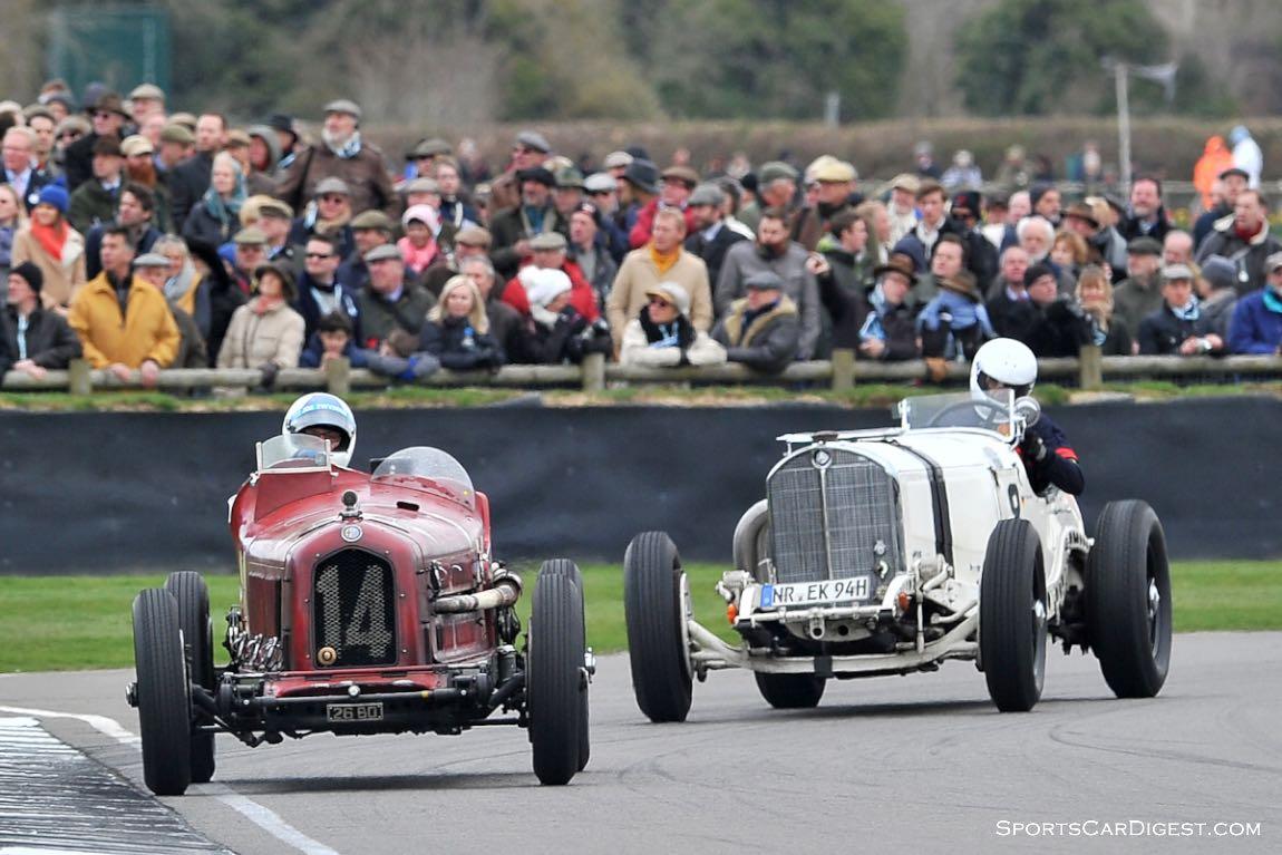1931 Alfa Romeo 8C 2600 'Muletto' and 1930 Mercedes-Benz 710 SSKL