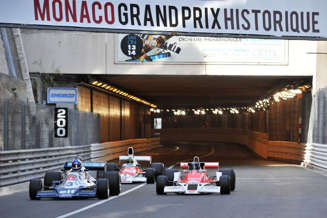 1978 Tyrrell 8 and 1976 McLaren M26