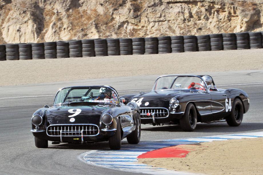 Pair of 1957 Chevrolet Corvettes