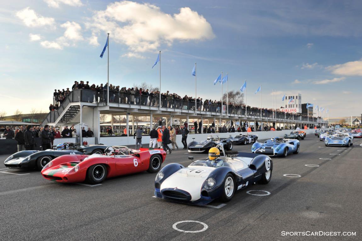 Bruce McLaren race at Goodwood Members Meeting 2015