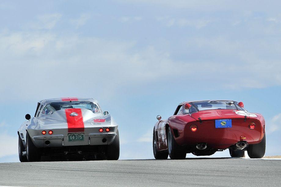 1964 Chevrolet Corvette and 1968 Bizzarrini 5300 GT Strada